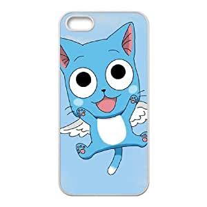 Fairy Tail iPhone5s Cell Phone Case White TPU Phone Case SV_247399