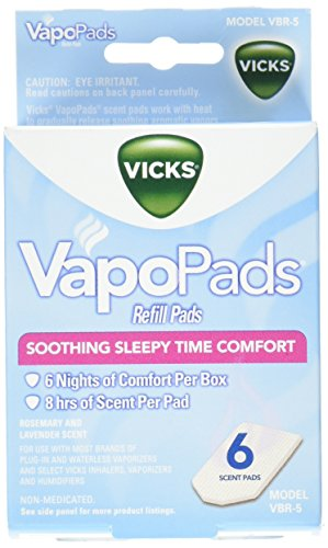 Vicks Baby Rub Waterless Vaporizer Pads, 2 Count by Vicks