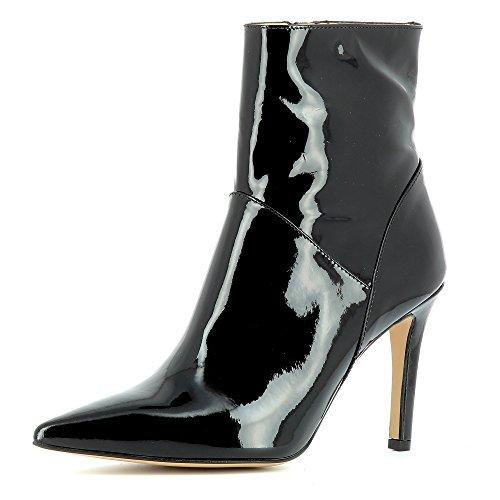 Evita Shoes Natalia Bottines Femme Cuir Verni Noir