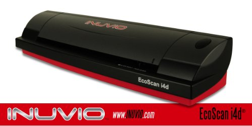 INUVIO EcoScan i4d Duplex ID Card and Document Scanner – Scans in full-color, grayscale, black & white. 24 Month Warranty