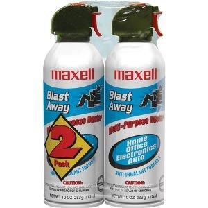 Maxell Blast Away CA4 Canned Air - Blast Maxell
