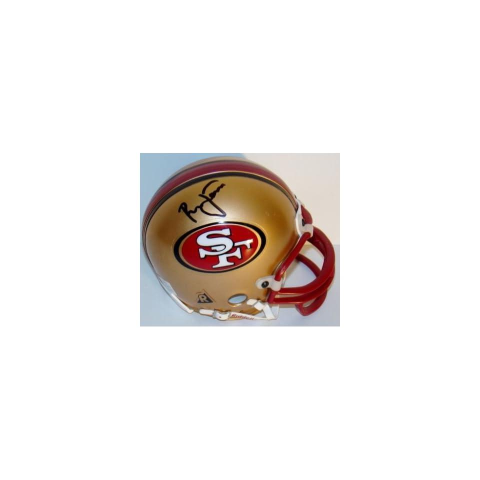 Ronnie Lott Autographed Mini Helmet   WCA   Autographed NFL Mini Helmets
