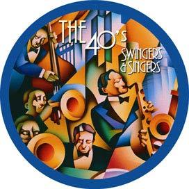 BRISA CD SWINGERS & SINGERS, THE 40´s / VARIOUS - edición de colección, edición especial, caja de regalo