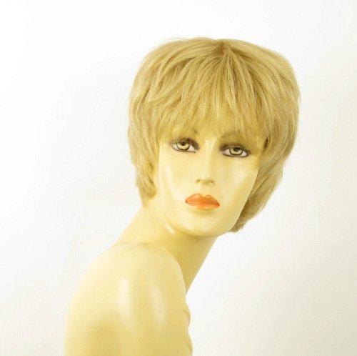 - WIG UNIVERS Woman Wig 100% Natural Hair Light Blonde Ref Sylvie 22