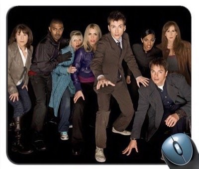 Doctor Who - Collector Series V9 Mouse Pad