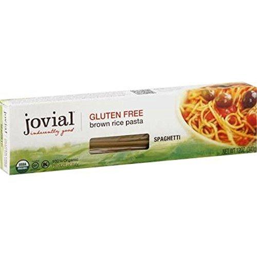 Jovial Organic Brown Rice Spaghetti Pasta, 12 Ounce - 12 per case.