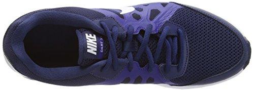 Nike Dart 11 Zapatillas de running, Hombre Azul (midnight navy/white-dp ryl bl 400)