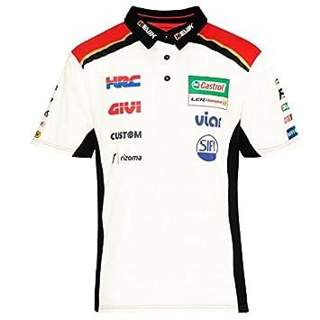 4d6f2bf27 Honda LCR Crutchlow Moto GP Racing Team Polo Shirt Official 2018:  Amazon.co.uk: Sports & Outdoors