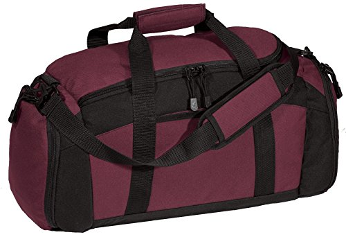 Port & Company luggage-and-bags Improved Gym Bag OSFA Maroon ()