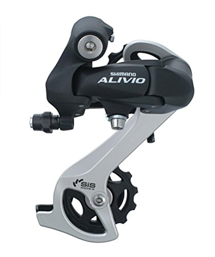 - KHNW Shimano Alivio RD-M410 Rear Derailleur Long Cage Direct Mount Derailleur 7/8 Speed