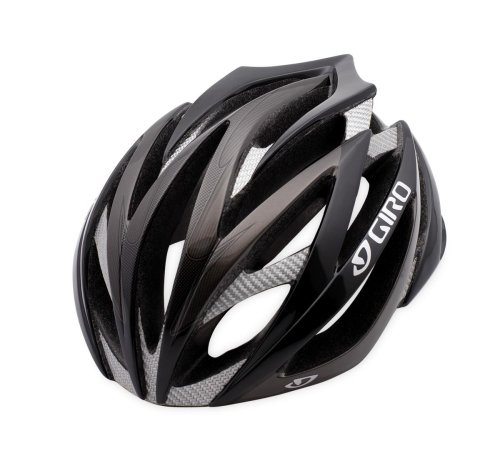 Giro Ionos Bike Helmet (Black/Carbon, Small)