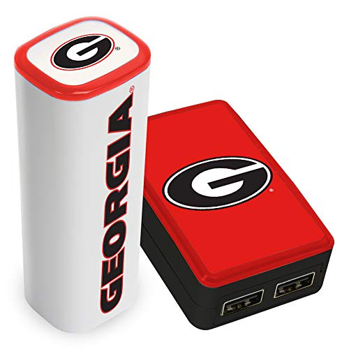 QuikVolt Georgia Bulldogs WP-200X Wall Charger / 2200JX Mobile Charger Pack