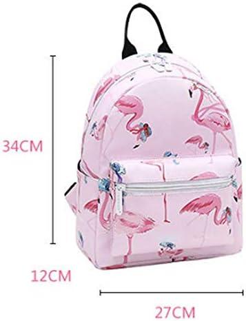 DMIZ Lightweight Backpack Printed Leisure Unisex College Wind Backpack,Fashion Casual Durable Travel Daypack Waterproof Dustproof with Tear Resistant Mini Bag