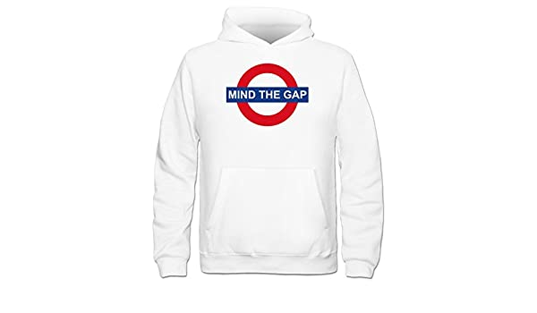 Sudadera con capucha niño Mind The Gap by Shirtcity: Amazon.es: Ropa y accesorios