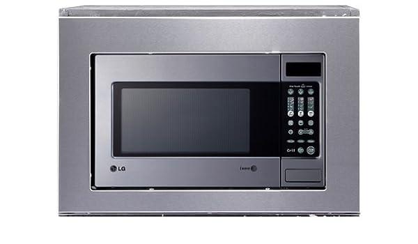 LG MH6043T Integrado 19L 800W Acero inoxidable - Microondas ...