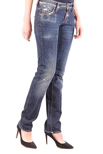 Femme Mcbi36781 Coton Dsquared2 Jeans Bleu zRwqS