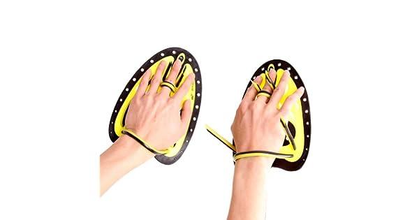 Amazon.com: Swim & Fitness Paddle Entrenamiento de natación ...