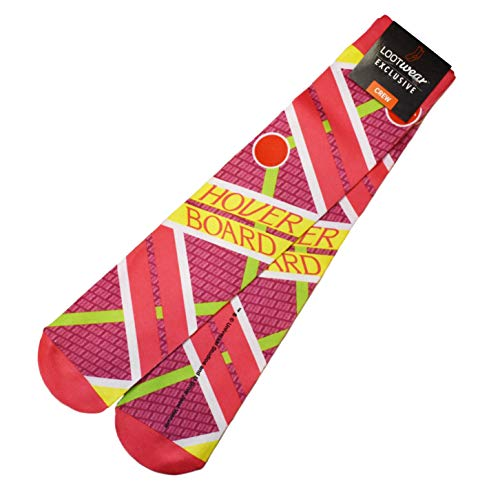 Back to the Future Hoverboard Socks - Loot -