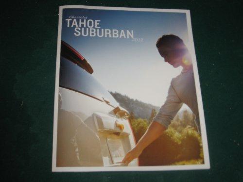 2012 Chevy Tahoe and Suburban Sales Brochure; LS; LT; LTZ; Tahoe Hybrid