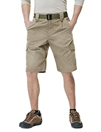 CQR Men's Tactical Lightweight Utiliy Cargo Shorts TSP-201