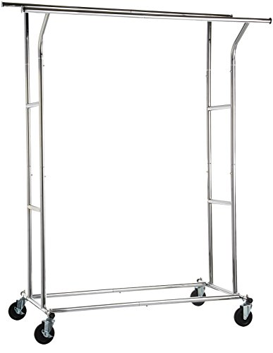 AmazonBasics Double Rail Garment Rack