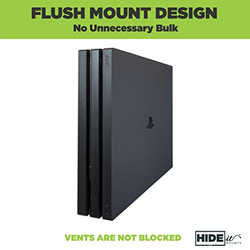 Hideit 4p Mount Ps4 Pro Wall Mount Made In The Usa