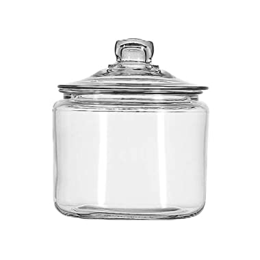 Anchor Hocking 3-Quart Heritage Hill Jar with Glass Lid