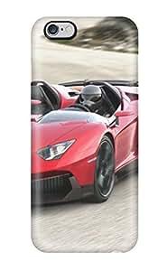 FlUebWp3613UXeGg Case Cover Lamborghini Aventador J 4 Iphone 6 Plus Protective Case