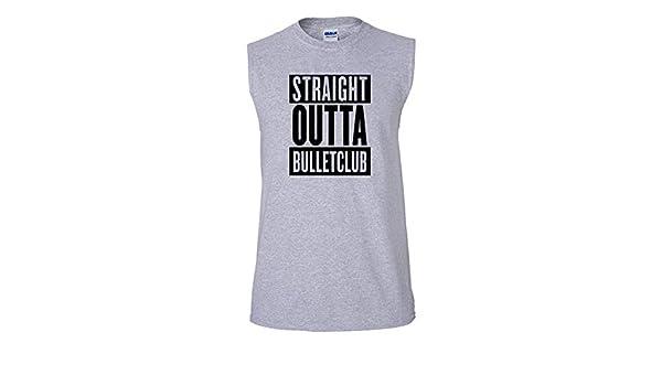 91faf629b562b Amazon.com  Bullet Club New Japan WWF Sleeveless T Shirt Tank Top WWE  Wrestling Wrestler Unisex T Shirt  Clothing