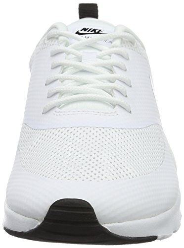 Thea Basses Air Max White NIKE Blanc Femme Black Baskets vwEqxfI