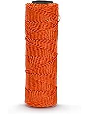 Bon 11-874 350-Feet Neon Orange EZC Twisted Nylon Mason Line