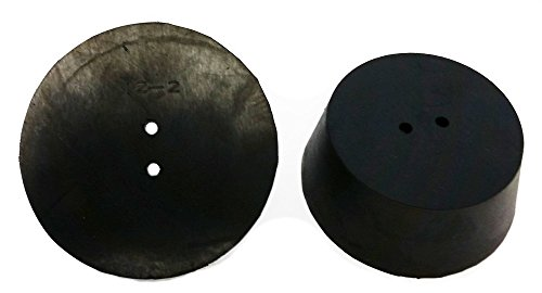 10 drilled rubber stopper - 7