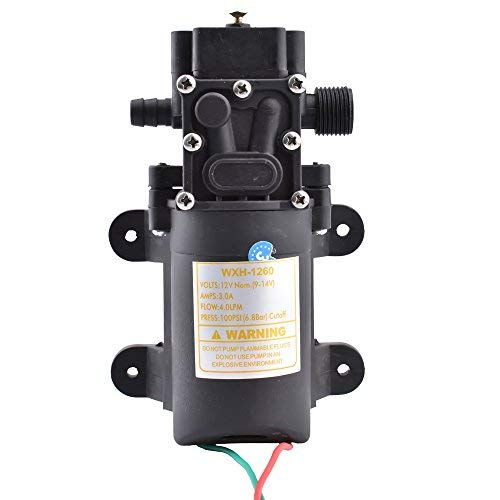 Electric Portable DC 12V Transfer Pump Extractor Suction Oil Fluid Water For Auto Marine Boat Diesel Car Motorbike by YOMNEE (Image #5)