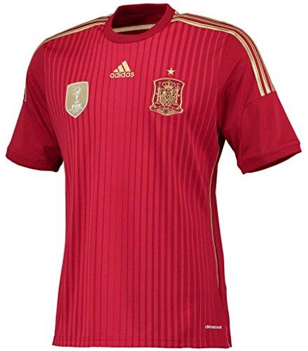命令チャット謙虚adidas(アディダス) サッカー スペイン代表 ホームユニフォーム 2014 Soccer Spain National Team Home Shirt 2014 [並行輸入品]