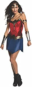 Rubie's Women's Batman v Superman: Dawn of Justice Wonder Woman Costume