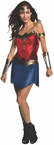 Rubie's Women's Batman v Superman: Dawn of Justice Wonder Woman Costume, Multi, Large - Superman Costume Party City