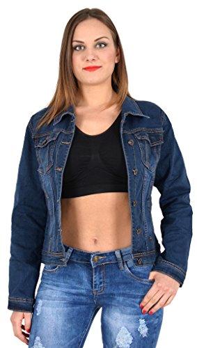 veste longues Femme tailles M03 Jeans rex M340 grandes manches by aXZxtTnga