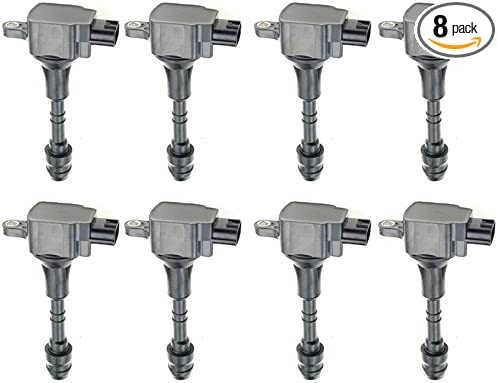 Nissan Titan 2003-2007 Nissan Pathfinder Armada 2004 AUTOSAVER88 Ignition Coil Pack of 8 Compatible with Nissan Armada 2005-2007 Infiniti QX56 2004-2007 5.6L V8