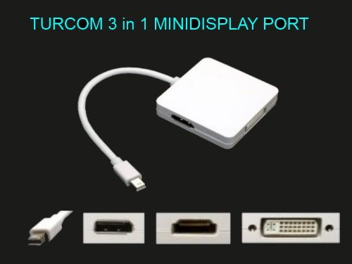 Turcom DisplayPort Cable Adapter MacBook