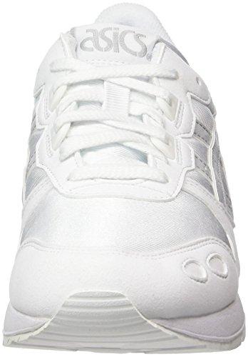 Asics Unisex-Erwachsene Gel-Lyte Sneaker Weiß (White/Glacier Grey)