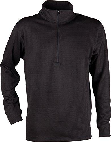 Chill® - Thermo-Langarmshirt - für niedrige Wintertemperaturen - enganliegend - Schwarz