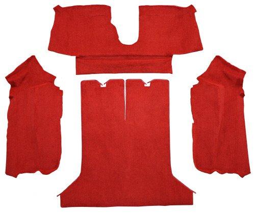 (Factory Fit - ACC 1984-1987 Corvette Carpet Replacement - Cutpile - Rear Area   Fits: Coupe, Rear with Pad)
