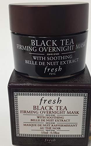 fresh Fresh black tea firming overnight mask, 0.5 oz, 15ml