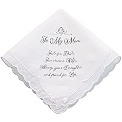 Lillian Rose Mom Wedding Gift Keepsake Hankie