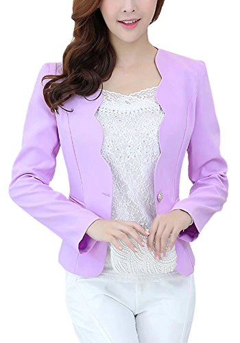 One Button Swing Jacket - 3