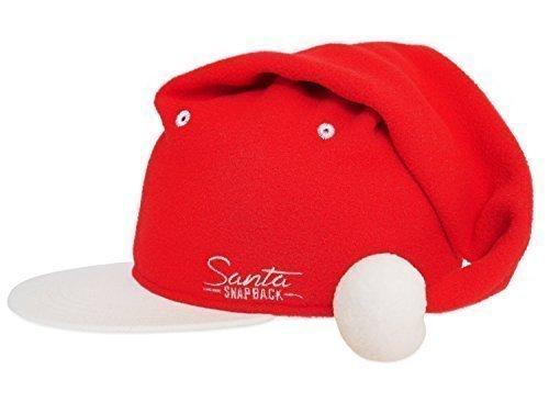 [Santa Snapback Holiday Hat for Christmas] (Sleigh Ride Santa Costumes)