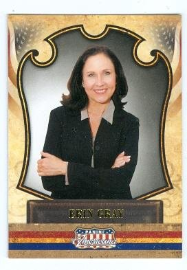Erin Gray trading card (Buck Rogers Wilma Deering, Silver Spoons) 2011 Panini Americana #45 Autograph Warehouse