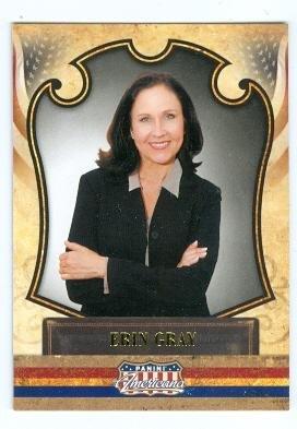 Erin Gray trading card (Buck Rogers Wilma Deering, Silver Spoons) 2011 Panini Americana #45 Autograph Warehouse