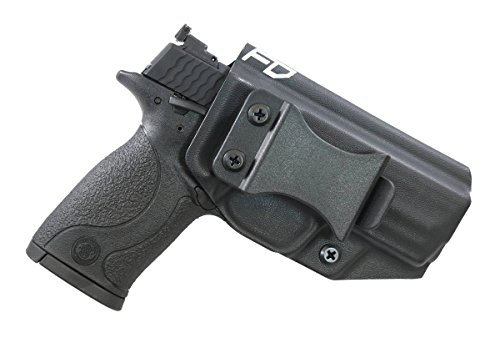 Fierce Defender IWB Kydex Holster S&W MP 22 Compact The Winter Warrior Series -Made in USA- (Black) ()