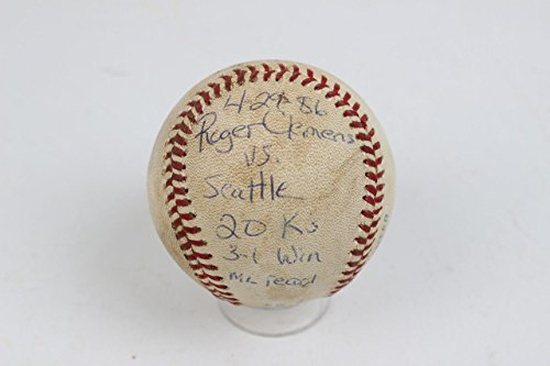 Red-Sox-20-Ks-Strikeout-Roger-Clemens-Game-Used-Inscribed-Baseball-Umpire-LOA
